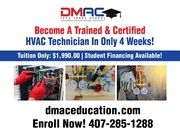 Become A Certified HVAC Electrical Plumbing Solar Tech in 4 Weeks